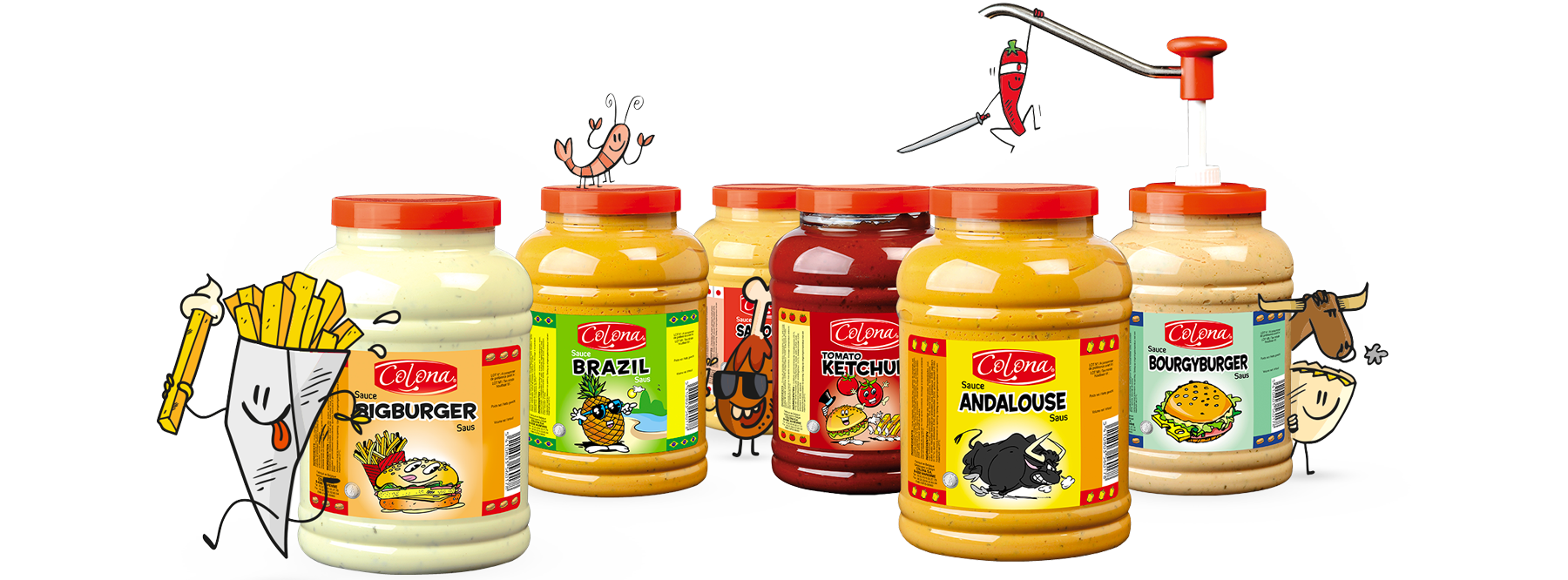 Sauces Colona